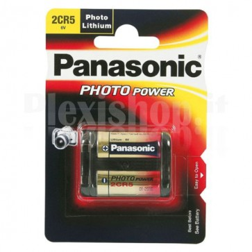 Blister 1 Batteria 6V 1550mA Litio 2CR5