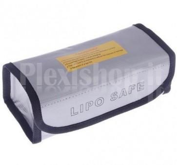 Borsa ignifuga per batterie Li-Po, 185 x 75 x 60mm