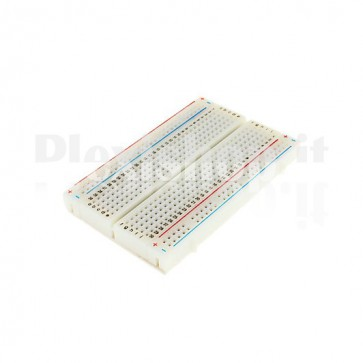 Breadboard 83x55mm, 400 fori