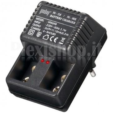 Caricabatteria per Batterie 9V