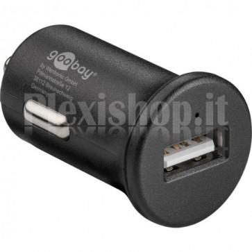 Caricatore da Auto 1p USB Quick Charge 3.0 Nero