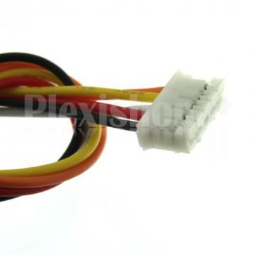 Cavetto multicolore terminato con connettore PH2.0‐5P, 5 poli