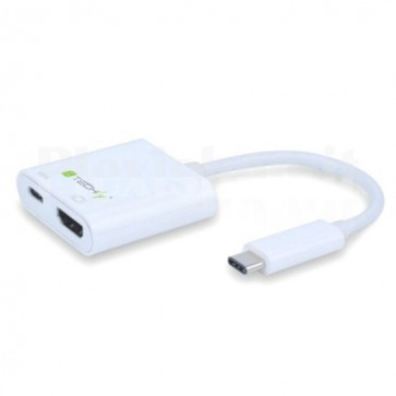 Cavo Convertitore Adattatore da USB-C a HDMI, Porta di Ricarica USB-C