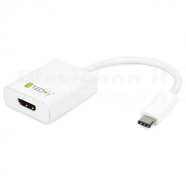 Cavo Convertitore Adattatore da USB-C M a HDMI 1.4 F