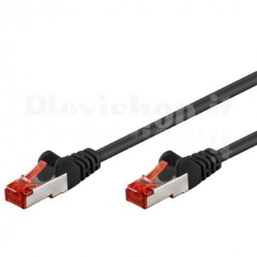 Cavo di rete Patch in rame Cat. 6 Nero SFTP LSZH 10m
