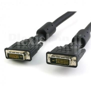 Cavo DVI digitale Dual Link (DVI-D) con ferrite 3m