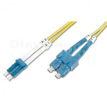 Cavo fibra ottica SC/LC 9/125 Monomodale 10 m OS2