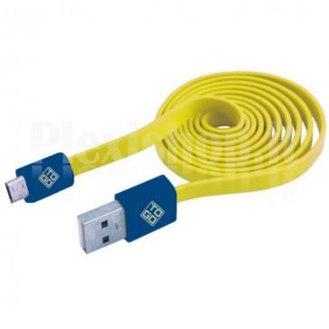 Cavo Flat USB AM a Micro USB M 1m