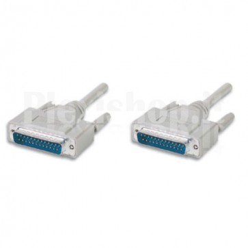 Cavo Seriali/Paralleli M/M D-Sub 25p. 3 m