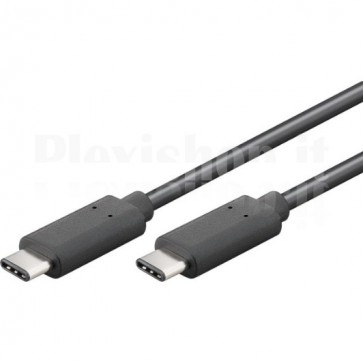 Cavo SuperSpeed USB-C Maschio / USB-C Maschio 1m Nero