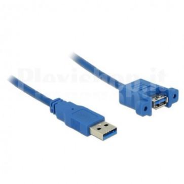 Cavo USB3.0 A Maschio/A Femmina da Pannello