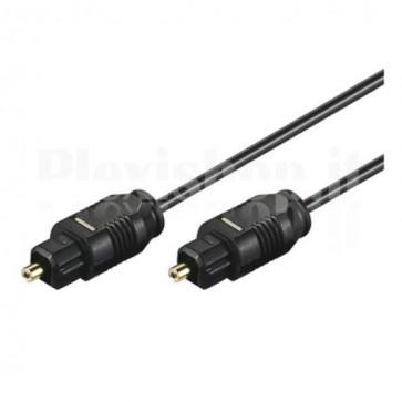 Cavo audio ottico digitale Toslink (SPDIF) 0,5 mt. ø 2.2 mm