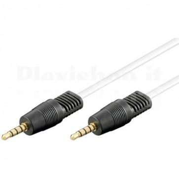 Cavo Audio Video 3.5mm oro M/M 1,0 m