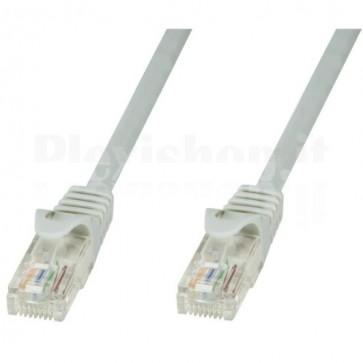 Cavo di rete Patch in CCA Cat.6 Grigio UTP 0,25m