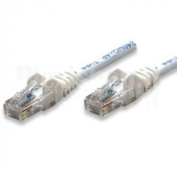 Cavo di rete Patch in CCA Cat. 6 Bianco UTP 1 mt
