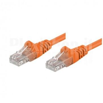 Cavo di rete Patch in Rame Cat. 6 Arancio S/FTP 1 m