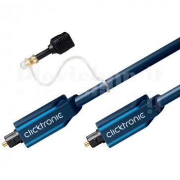 Cavo ottico digitale audio Toslink/Toslink 2 m