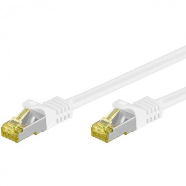 Cavo Patch Cat.7 Plug RJ45 6A S/FTP LSZH 20m Bianco
