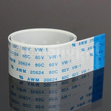 Cavo piatto FFC / FPC 15P passo 1.0mm, 30cm