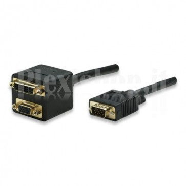 Cavo sdoppiatore VGA/DVI-I