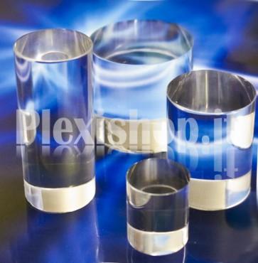 Cilindretto Ø80 mm H80 mm in plexiglass