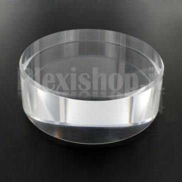 Cilindretto Ø100 mm H30 mm in plexiglass