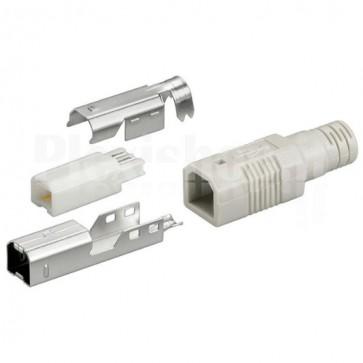 Connettore USB a saldare B maschio