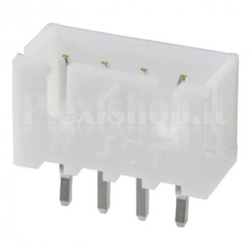 Connettore XH2.54 da circuito stampato, 4 contatti