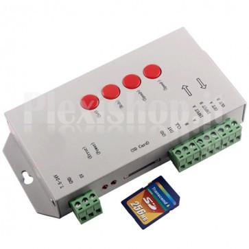 Controller per led indirizzabili con slot SD
