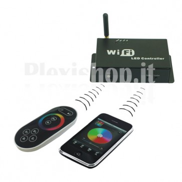 Controller Led WiFi - per Android e iPhone