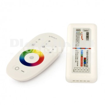Controller RGBW Touch RF Sfioramento