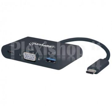Convertitore USB Tipo C Mini-Docking