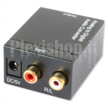 Convertitore Audio da analogico a digitale SPDIF