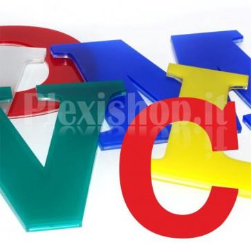 Cover per lettere luminose - C