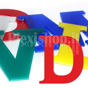Cover per lettere luminose - D