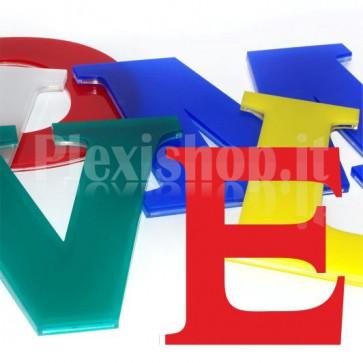Cover per lettere luminose - E