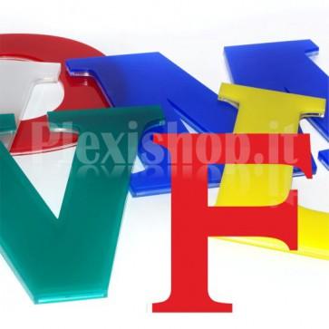 Cover per lettere luminose - F