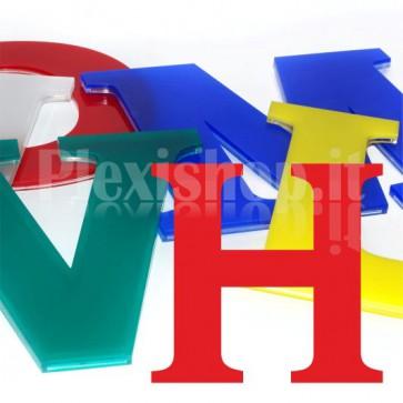 Cover per lettere luminose - H
