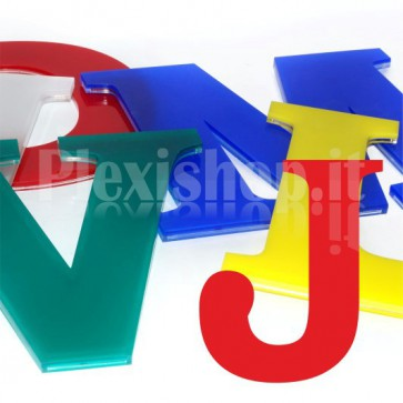 Cover per lettere luminose - J