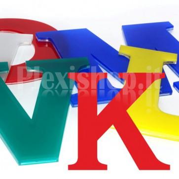 Cover per lettere luminose - K