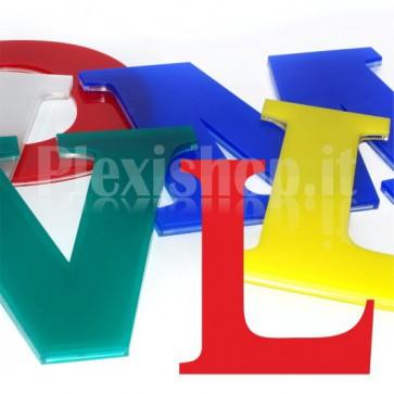 Cover per lettere luminose - L