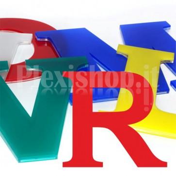 Cover per lettere luminose - R