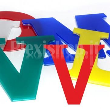 Cover per lettere luminose - V