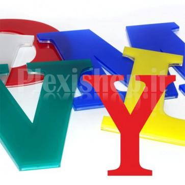 Cover per lettere luminose - Y