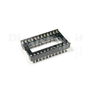 Zoccolo per circuito integrato 24 Pin