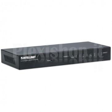 Desktop Switch 8 Porte Gigabit Nero