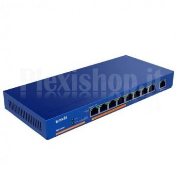 Desktop Switch 9 Porte Gigabit con 4 Porte PoE
