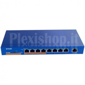 Desktop Switch 9 Porte Gigabit con 4 Porte PoE Plus