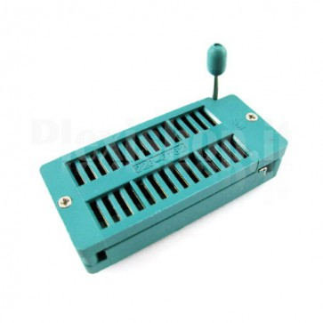 Zoccolo ZIF 28 pin 228-6182