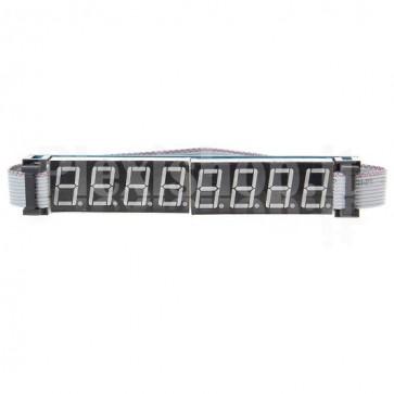 Display 8 digit a 8 segmenti
